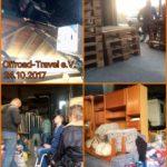 Sortierung im Spendenlager